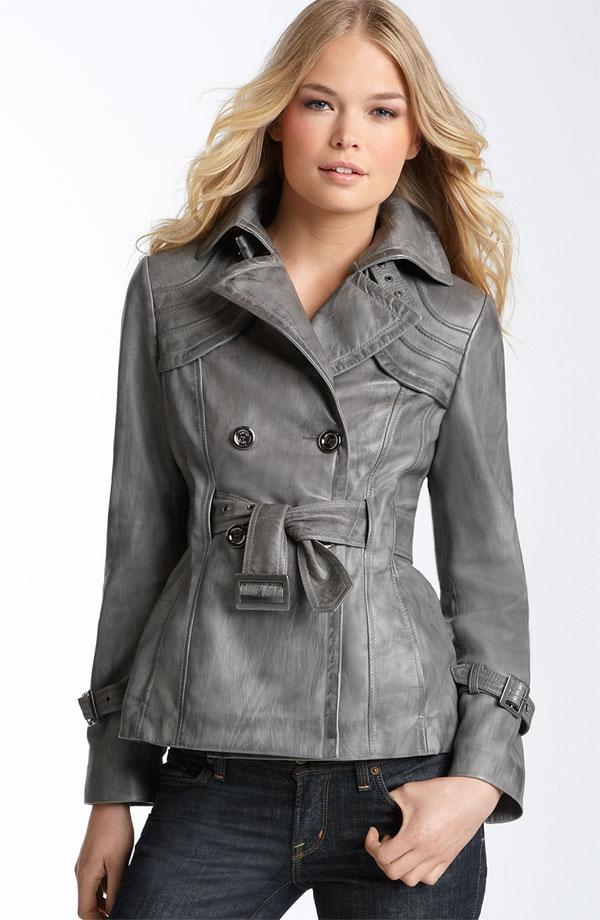 Не стали исключением и женские кожаные куртки осень 2012.