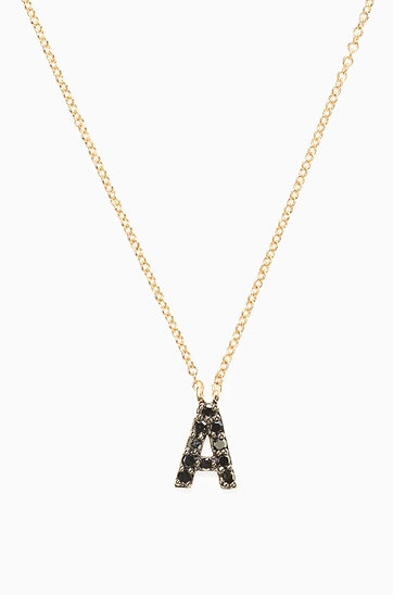 Stella & Dot Covet initial necklace