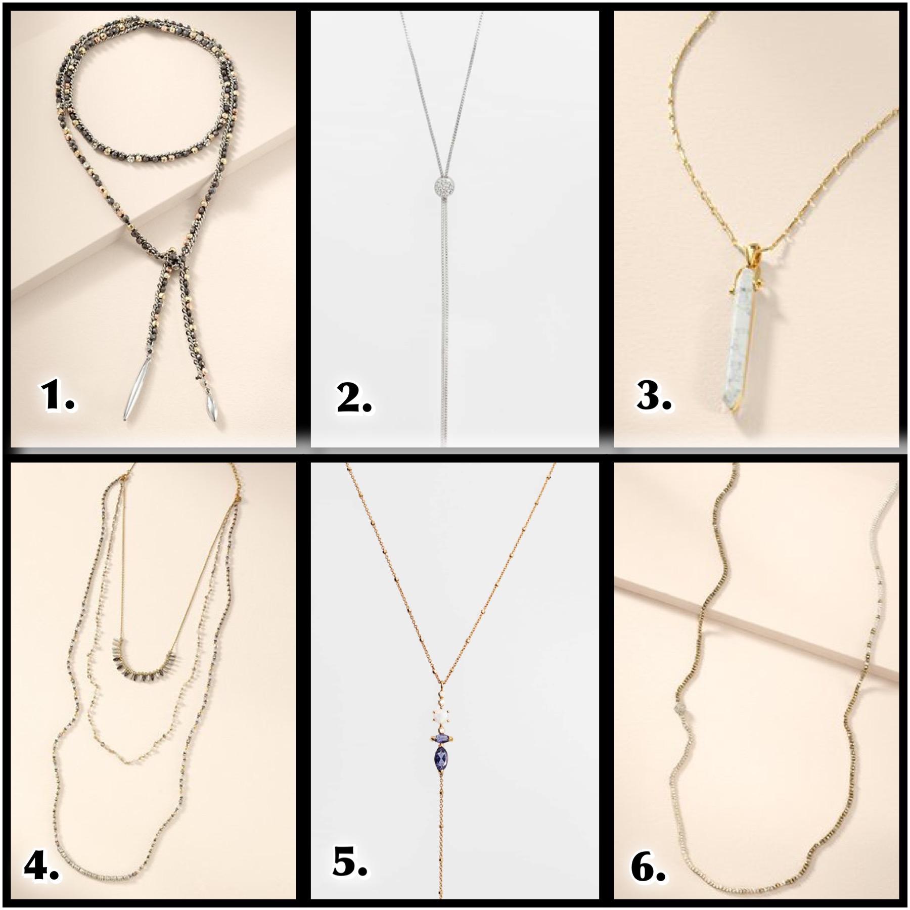 versatile long necklaces