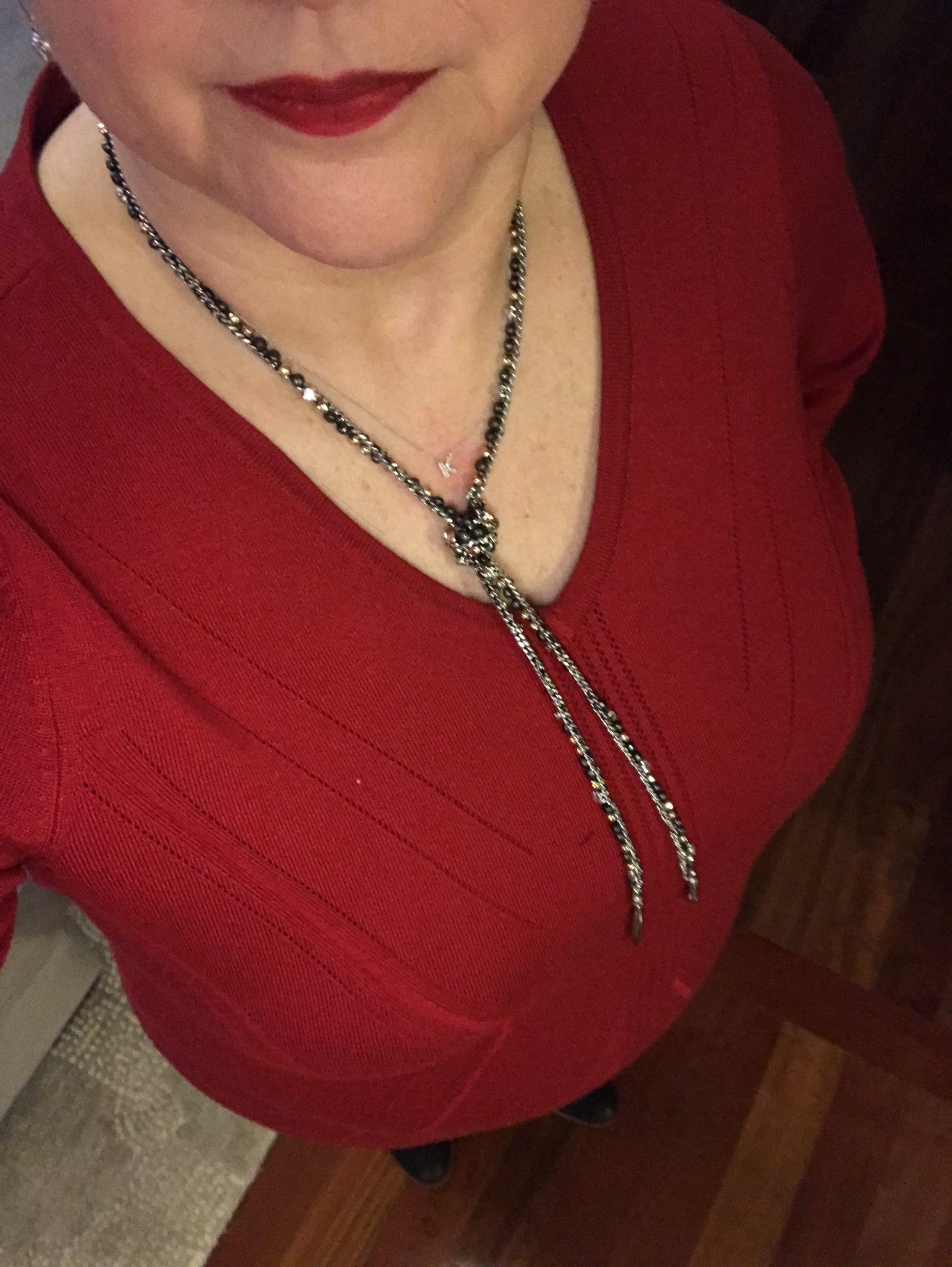 Zoe necklace by Stella & Dot