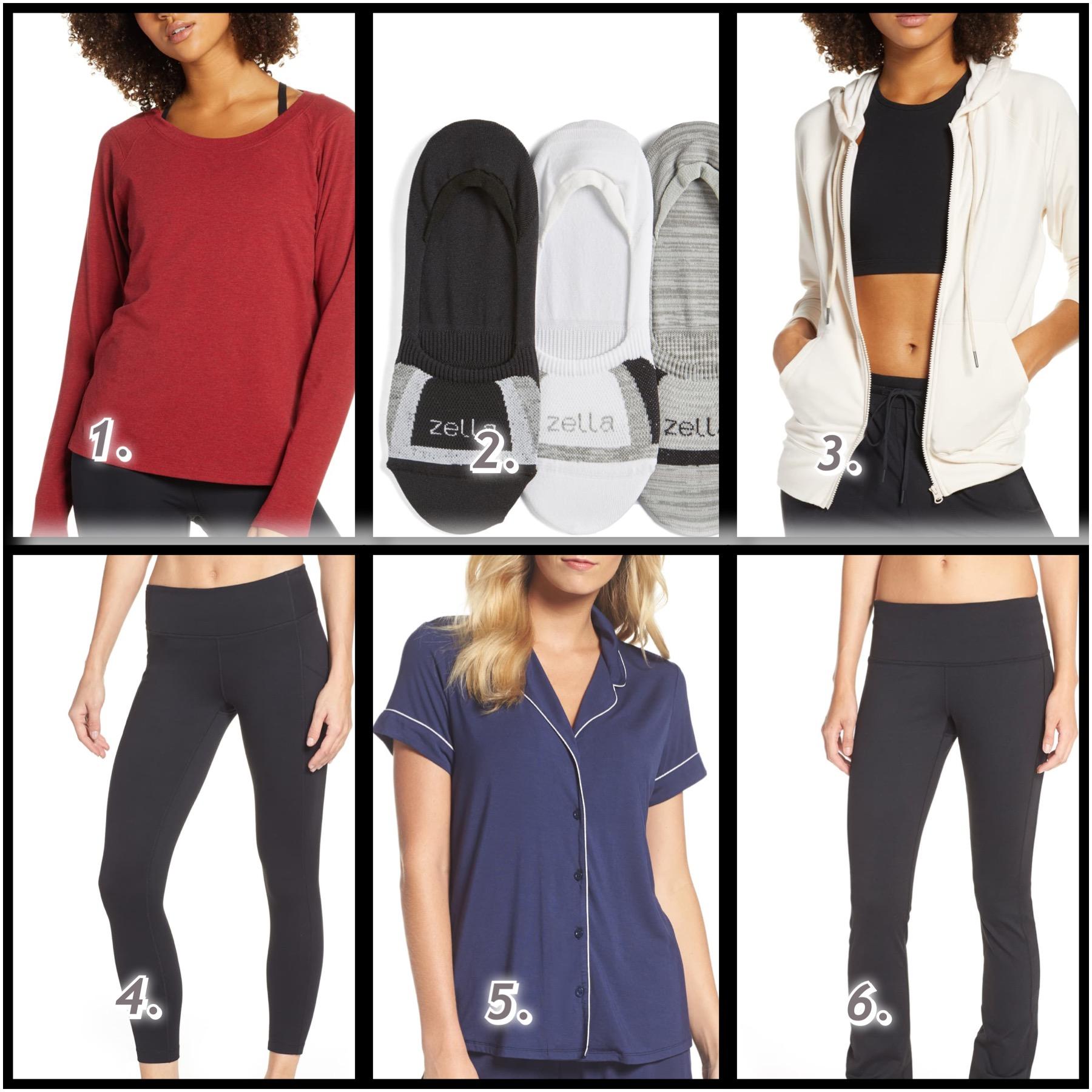Nordstrom Anniversary Sale: Activewear, Sleepwear and Lingerie