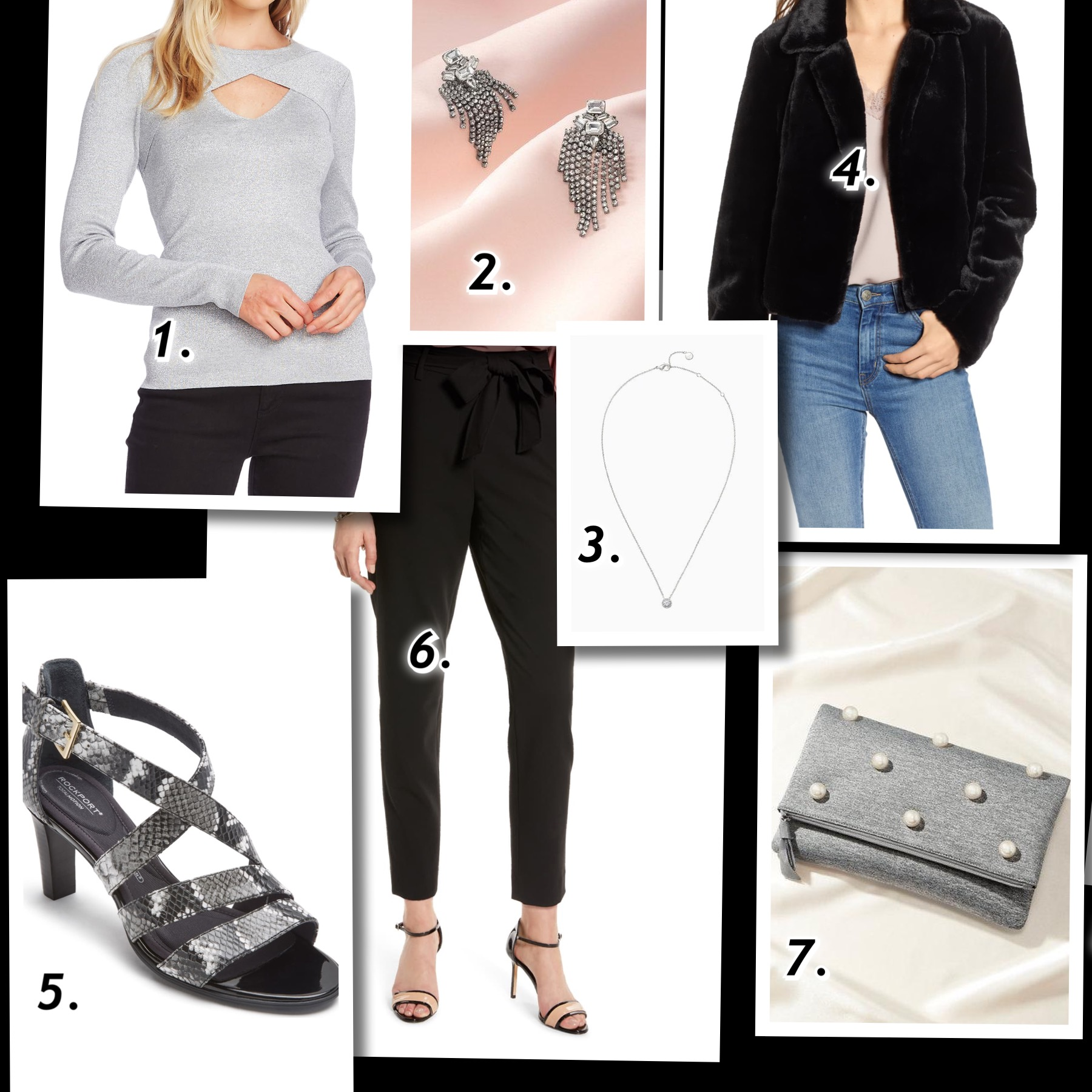 How to Create Dressy-Casual Holiday Outfits